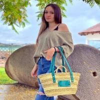 CAMILA 💚  Disponible en: www.dancrisbags.com   . . . . . . .  #artesania #capazospersonalizados #verano #love #capazos #bolsos #moda #bag #fashion #leather #cestas #happy #design #bag #piel #bolsospiel #españa #andalucia #cadiz #ubrique #style #branding #cuir #beautiful #photooftheday #zara #madeinspain #madeinubrique #dancris #dancrisbags