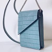 NEW ALANA COCO CELESTE.  Nueva colección de bandoleras smartphones disponible en: www.dancrisbags.com   . . . . . . .  #pielcoco #verano #ilusion #bolso #bag #brand #celeste #bandolerasmartphone #smartphone #leather #bandoleras #art #design #piel #españa #andalucia #cadiz #ubrique #style #branding #cuir #branddesign #moda #brandidentity #fashionbag #madeinspain #dancris #dancrisspain #dancrisubrique